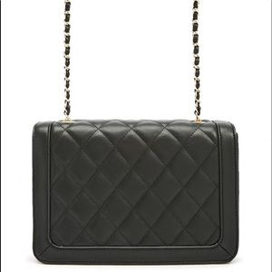 NWT crossbody quilted chain purse